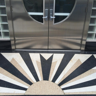 Front Door Sunburst
